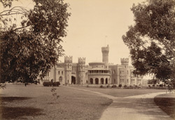 [View of the Palace at Bangalore from the grounds.]